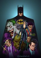 Batman Universe by thesilvabrothers