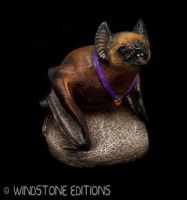 The Vampire bat in brown by Reptangle
