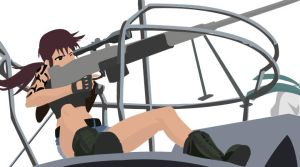 Another Revy vector by OnkarBasra