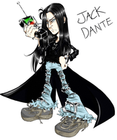 Jack Dante by HumanPinCushion