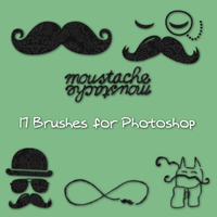 Moustache Brushes by TodoParaChicas