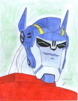 sweet smile of Optimus PrimeTA by ailgara