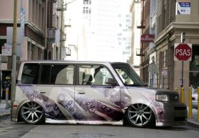 scion xb - faces by psas