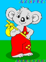 BLINKY BILL THE KOALA by HOBYMIITHETACTICIAN