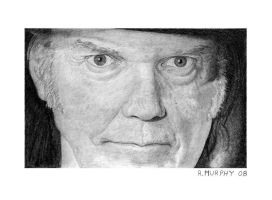 Neil Young by Itsmerick by twotonearmy