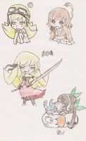 Bakemonogatari chibi 1 by HeartlessHollow07