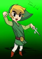 Toon Link by AnimeArtiste