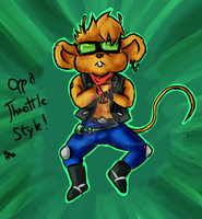 Oppa Throttle Style by MayaPatch