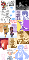 Doodle Dump - disgaeas and tumblr! by Nami-Tsuki