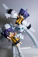 Flying Cats by Kodomut