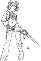 Nocker with a Shotgun by Jackwrench