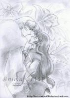 Sesshomaru and Sango Request by Animaker131