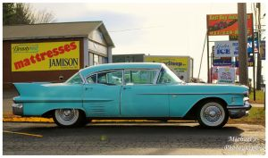 A  Cool Blue1958 Cadillac by TheMan268