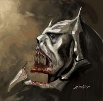 Hordak head by Arhanor