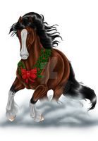 Clydesdale-Horse Finished by RejectAll-American
