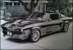 mustang drawing by mattkorotney