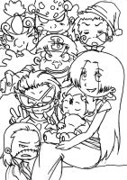 Shichibis Group Picture Collab by Mistress-Of-Eternity