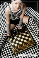 The chessplayer III by MissGandalf