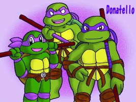 TMNT -Donatello 3ver. by koju327
