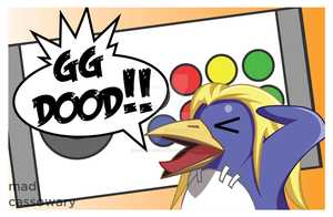 GG DOOD! (max prinny) by MadCassowary
