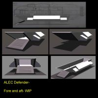 ALEC-Defender--Fore-and-Aft WIP by mdbruffy