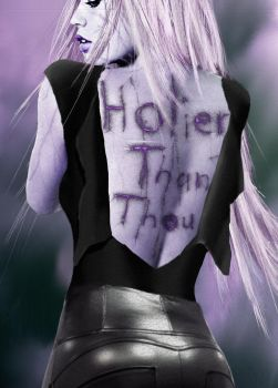 Holier than Thou by VKMcAllister