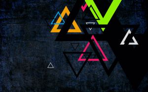 wallpaper 29 the triangles by zpecter