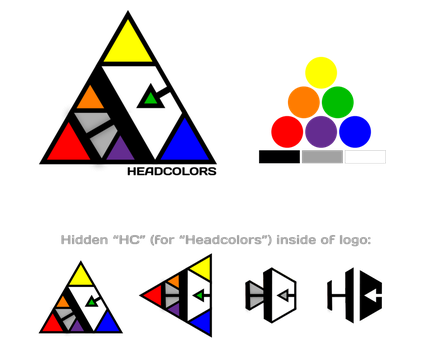 Headcolors Logo Design by toddomassey