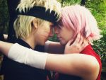 NaruSaku: your attention by ToraCosplayers