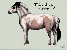 1999 Tiger Lilly by SpecklArt