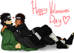 Shino x Kiba .:Happy Valentines Day:. by ZombiePattyFag