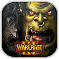 Warcraft III Reign of Chaos Game Icon by Wolfangraul