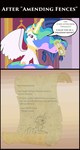 Celestia's Letter after 'Amending Fences' by UltraTheHedgetoaster