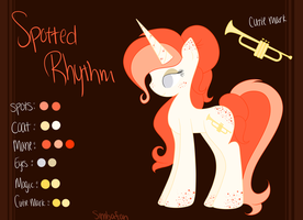 New Ponysona - Spotted Rhythm by spottie-dots