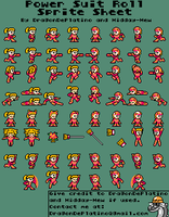 Request - Alternate Reality Roll Sprite Sheet by DragonDePlatino