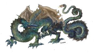 dragon by Berenica