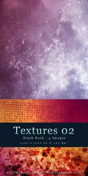 Textures 02 - Stock Pack by kuschelirmel-stock