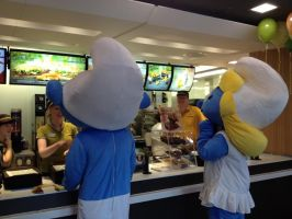 Big Mac Smurfs 1 by UncleGargy