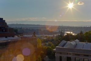 Western View from the UW Campus by vmulligan