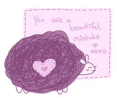 You are a beautiful mistake by M4geOfSp4ce