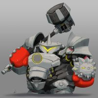 Reinhardt Panda by PunchingPandas