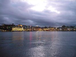 Stockholm by twilight by SofiaAlexandra