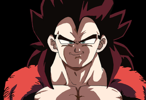 Vegeta Ssj4 by Lala-Dello
