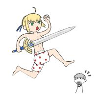 Saber by PaiwaYunder7