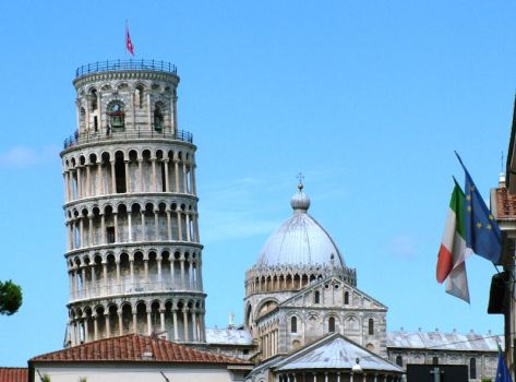 Leaning Tower of Pisa by Alredhead