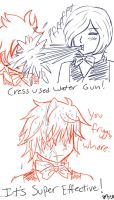 Cress Is A Pokemon by BlankInSpace