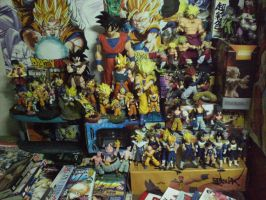MY DRAGONBALL Z COLLECTION by jeffbedash325