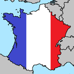 France Flag Map by LtAngemon