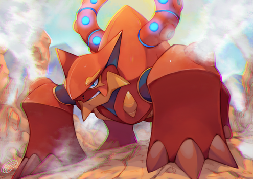 Volcanion by Tomycase
