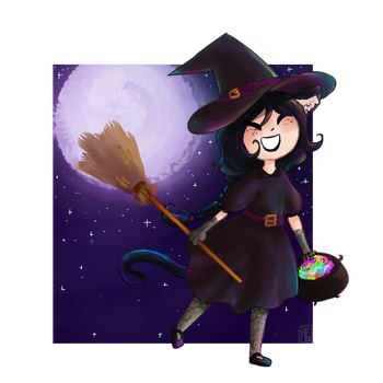 Little Witch by MisSarena